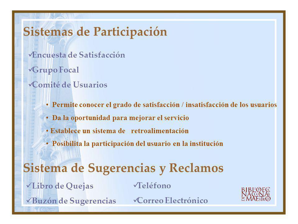 Sistemas de Participación
