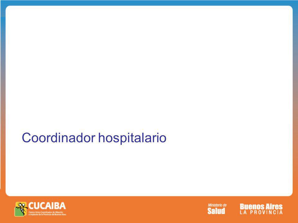 Coordinador hospitalario