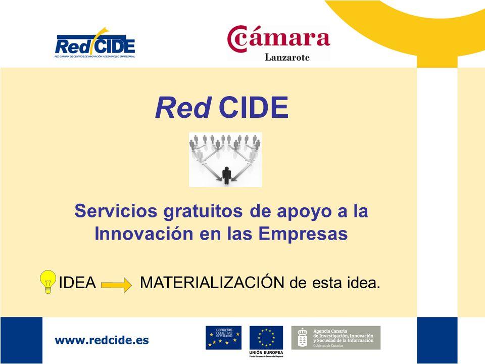 Servicios gratuitos de apoyo a la Innovación en las Empresas