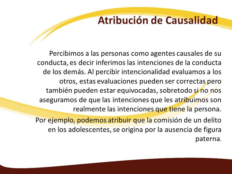 Atribución de Causalidad