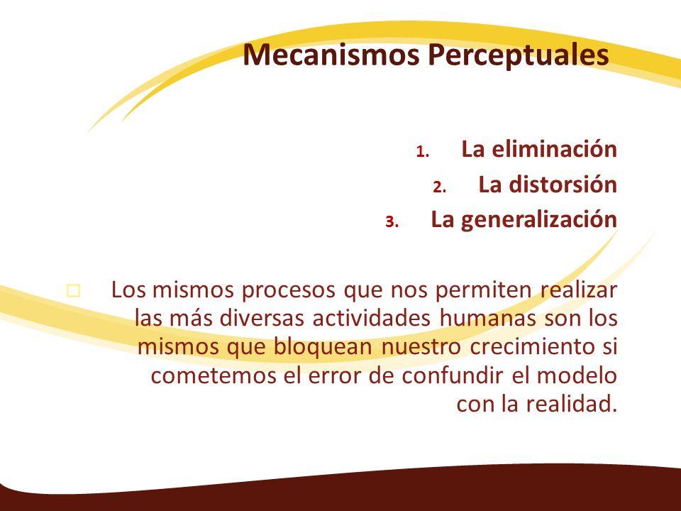 Mecanismos Perceptuales