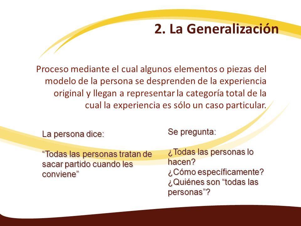 24/03/20172. La Generalización.