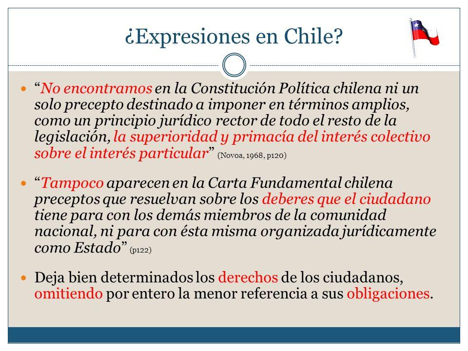 ¿Expresiones en Chile