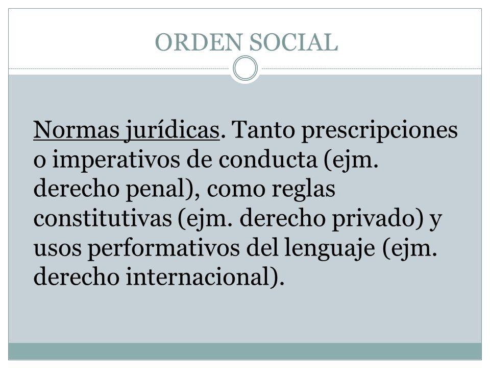 ORDEN SOCIAL