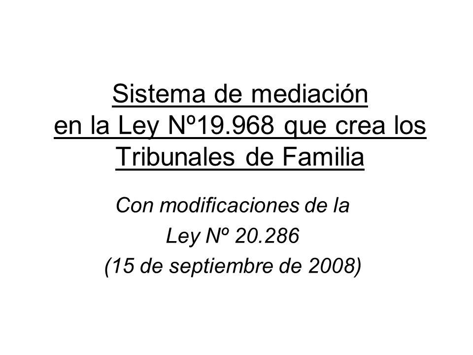 Con modificaciones de la Ley Nº 20.286 (15 de septiembre de 2008)