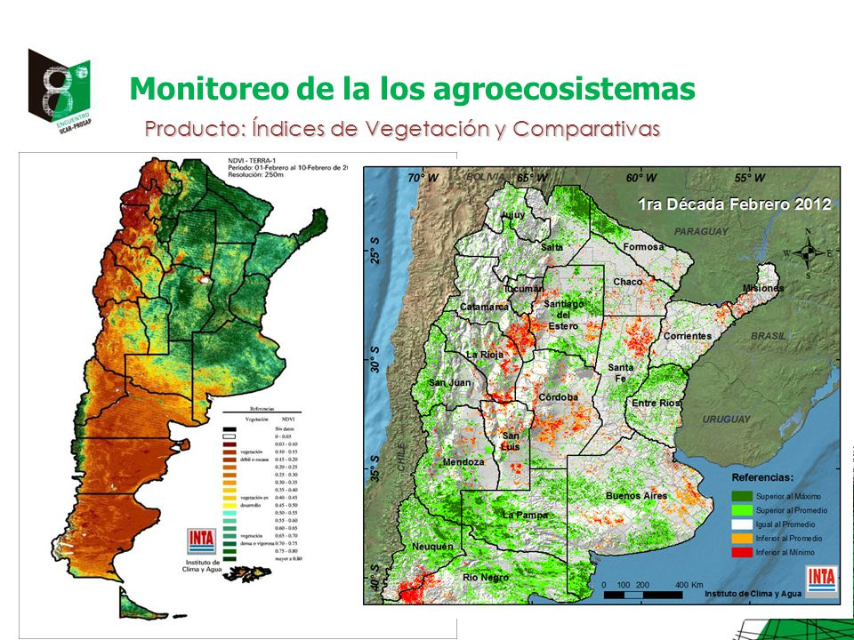 Monitoreo de la los agroecosistemas