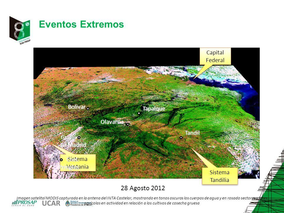 Eventos Extremos 28 Agosto 2012 Capital Federal Bolivar Tapalque