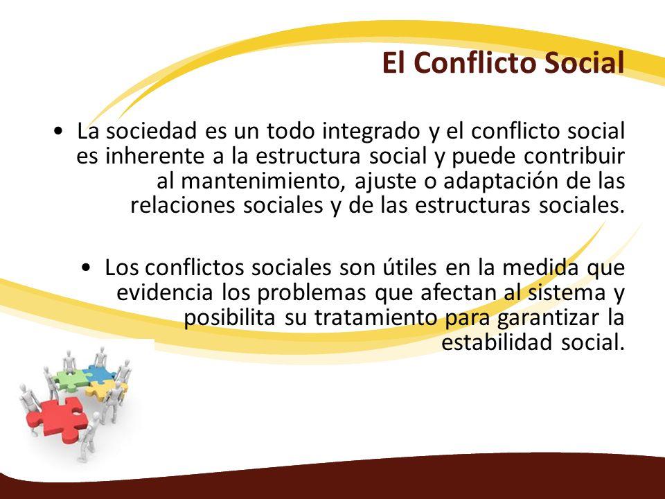 El Conflicto Social