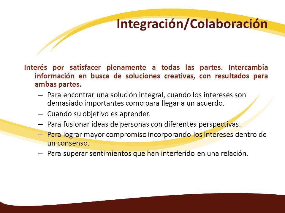 Integración/Colaboración
