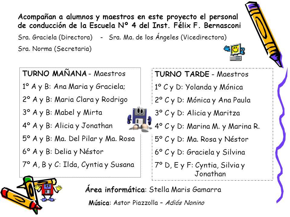 Área informática: Stella Maris Gamarra