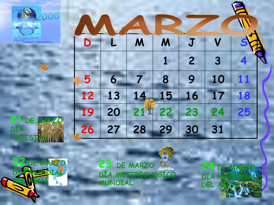 MARZO D. L. M. J. V. S. 1. 2. 3. 4. 5. 6. 7. 8. 9. 10. 11. 12. 13. 14. 15. 16.
