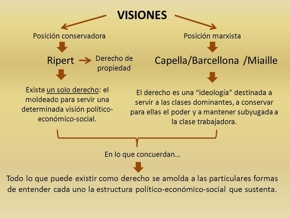 VISIONES Ripert Capella/Barcellona /Miaille