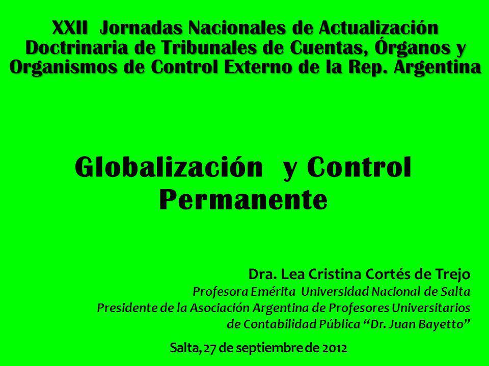 Globalización y Control Permanente