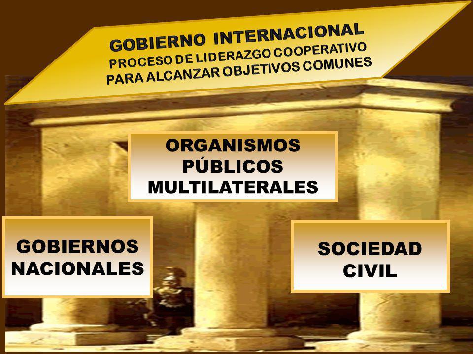 GOBIERNOS SOCIEDAD CIVIL
