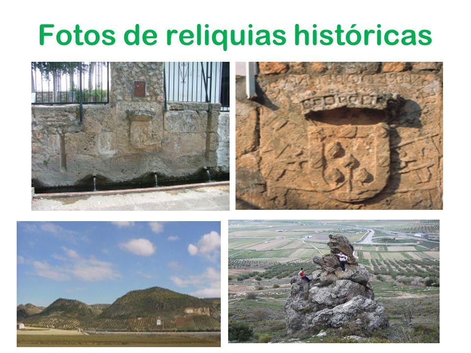 Fotos de reliquias históricas