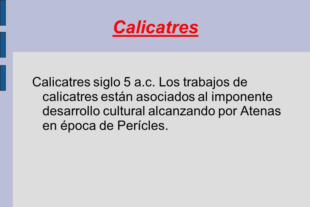 Calicatres