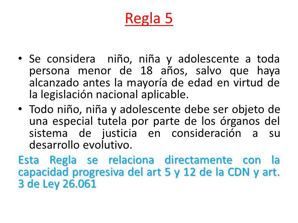 Regla 5