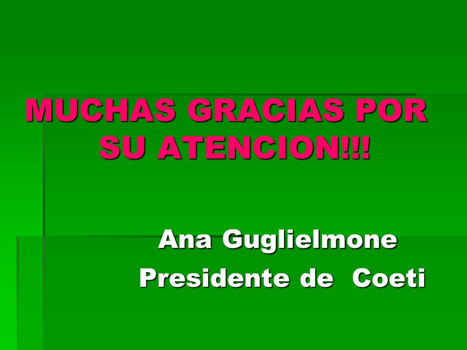 MUCHAS GRACIAS POR SU ATENCION!!!