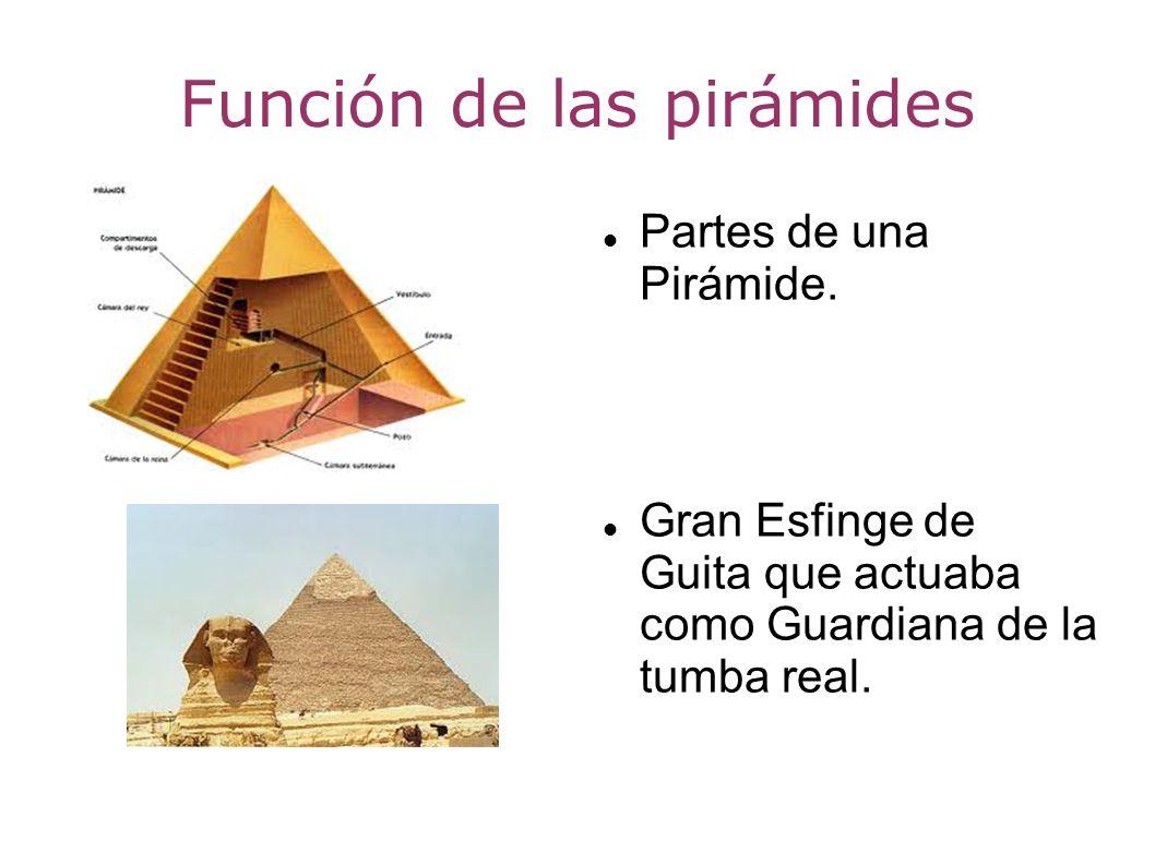 Función de las pirámides
