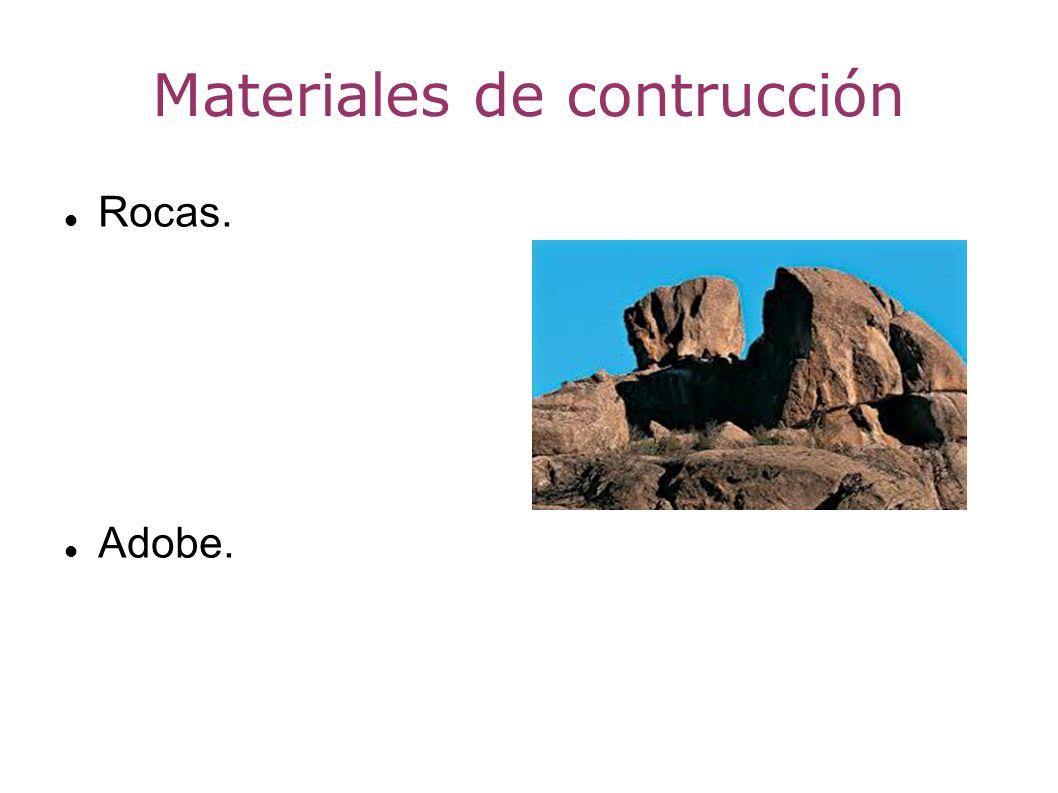 Materiales de contrucción