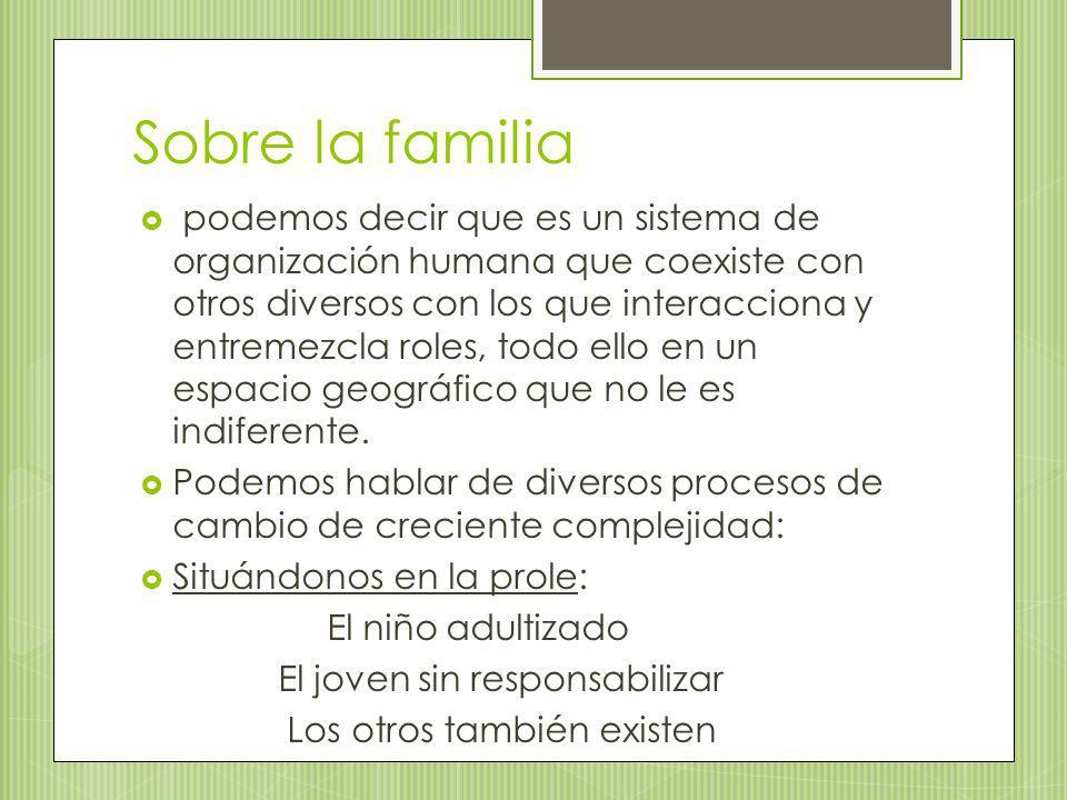 Sobre la familia