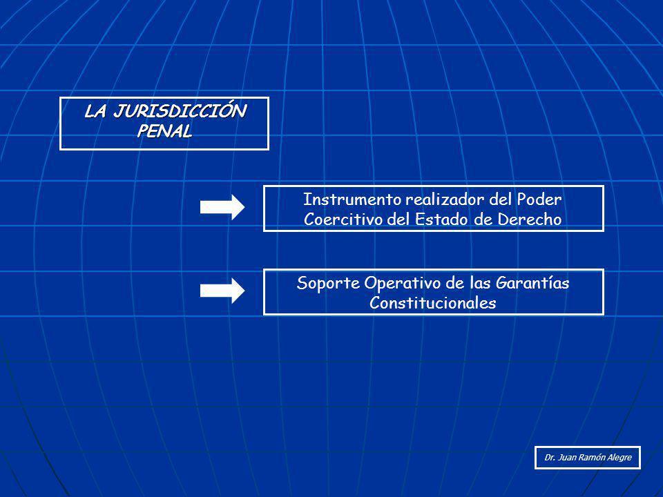 Instrumento realizador del Poder Coercitivo del Estado de Derecho