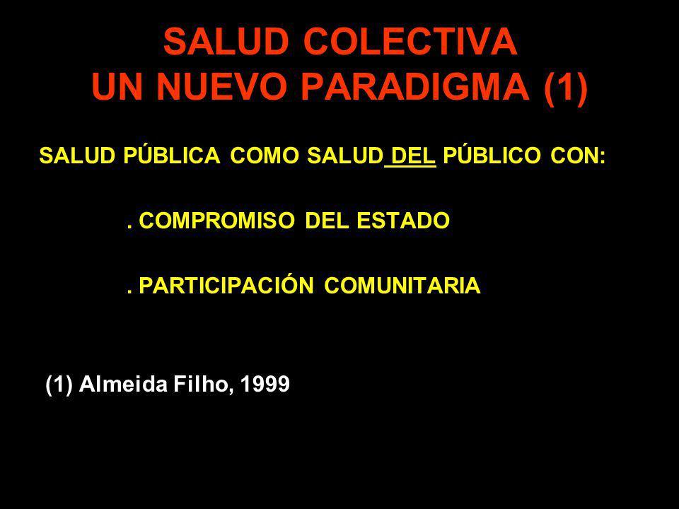 SALUD COLECTIVA UN NUEVO PARADIGMA (1)
