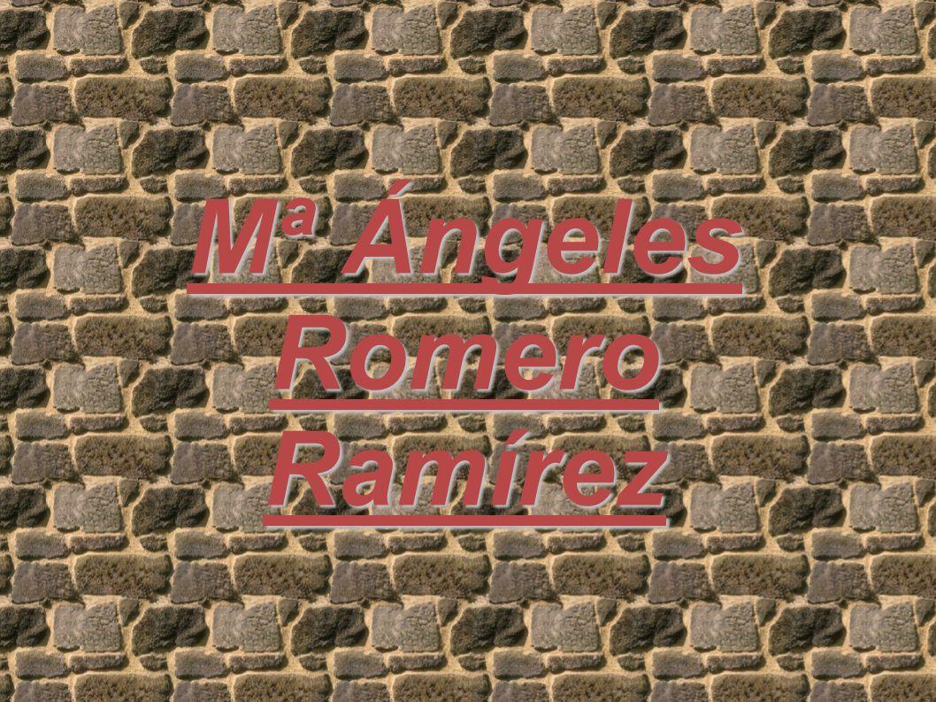 Mª Ángeles Romero Ramírez
