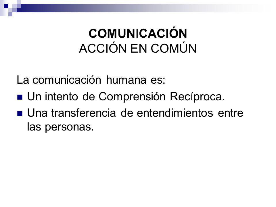 COMUNICACIÓN ACCIÓN EN COMÚN