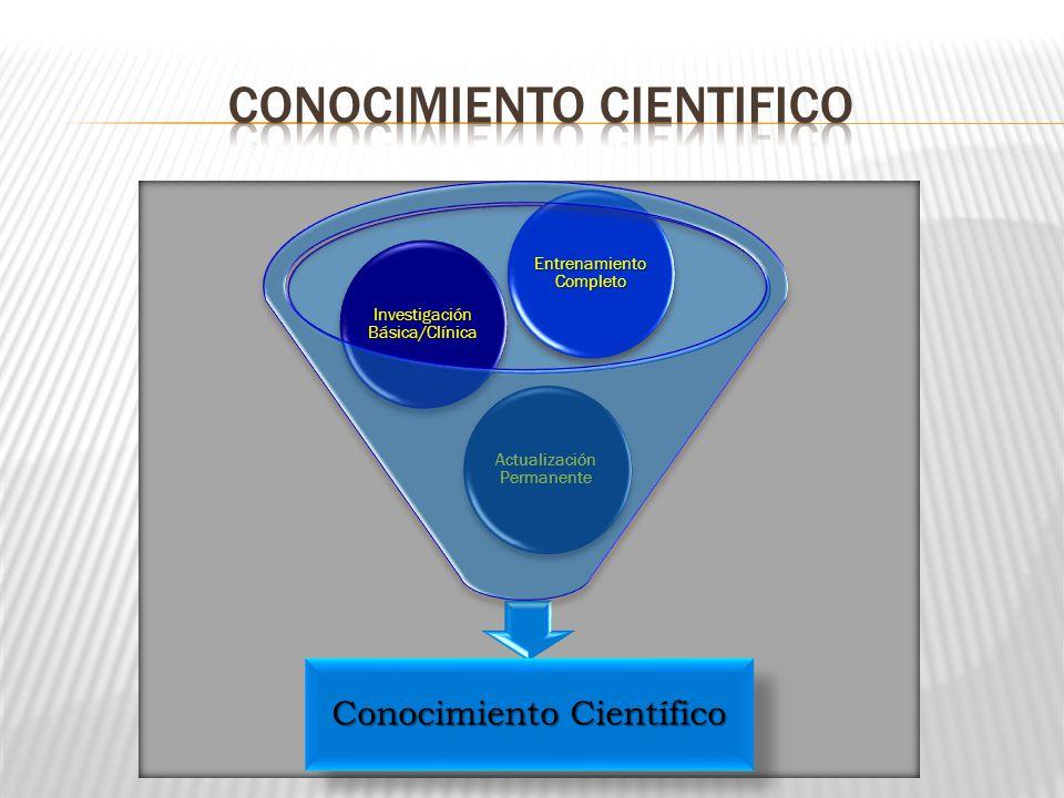 Conocimiento cientifico