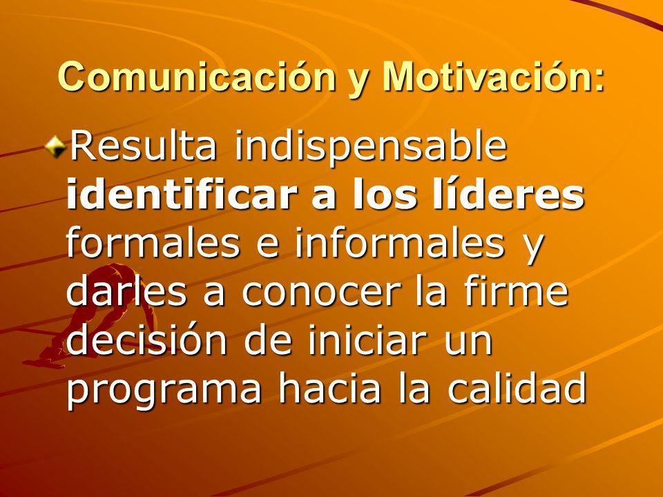Comunicación y Motivación: