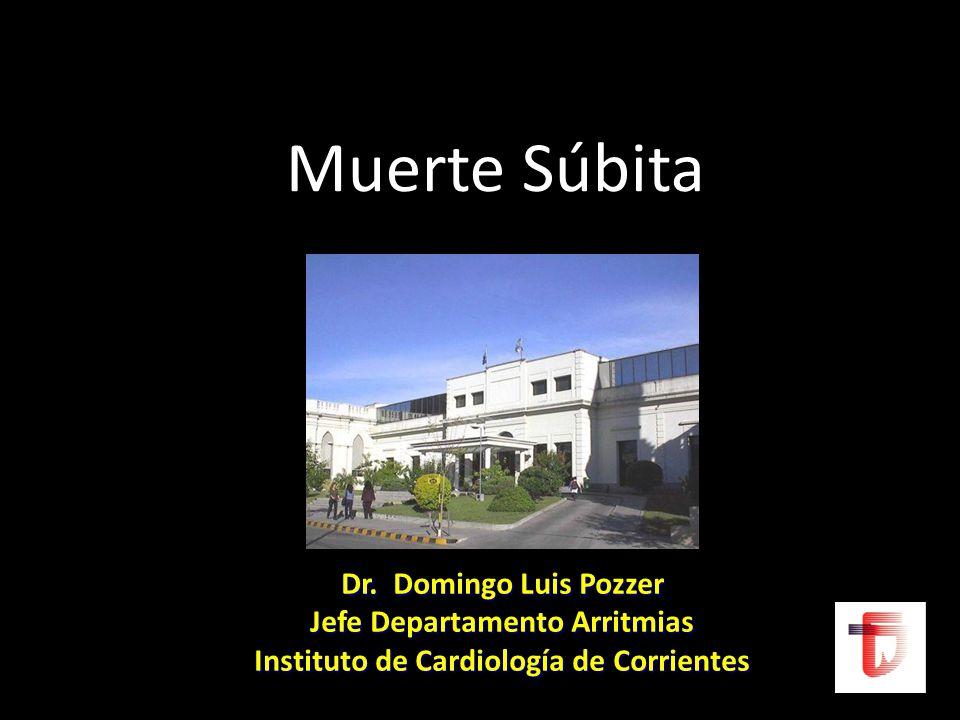 Jefe Departamento Arritmias Instituto de Cardiología de Corrientes