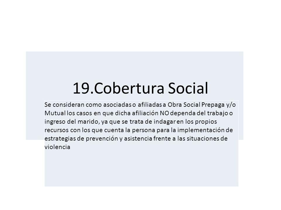19.Cobertura Social