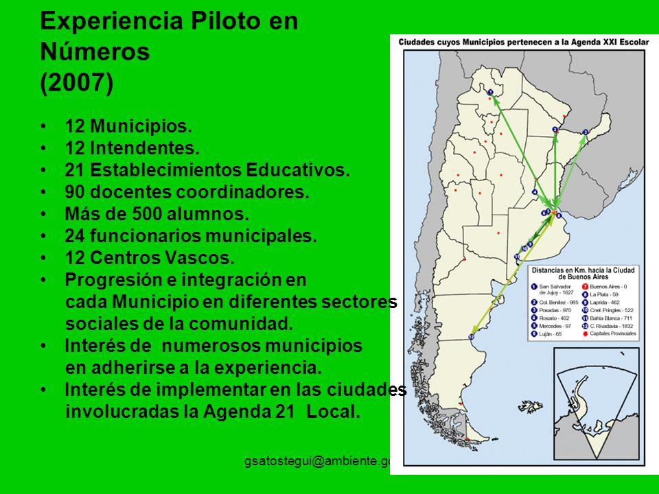 Experiencia Piloto en Números (2007)