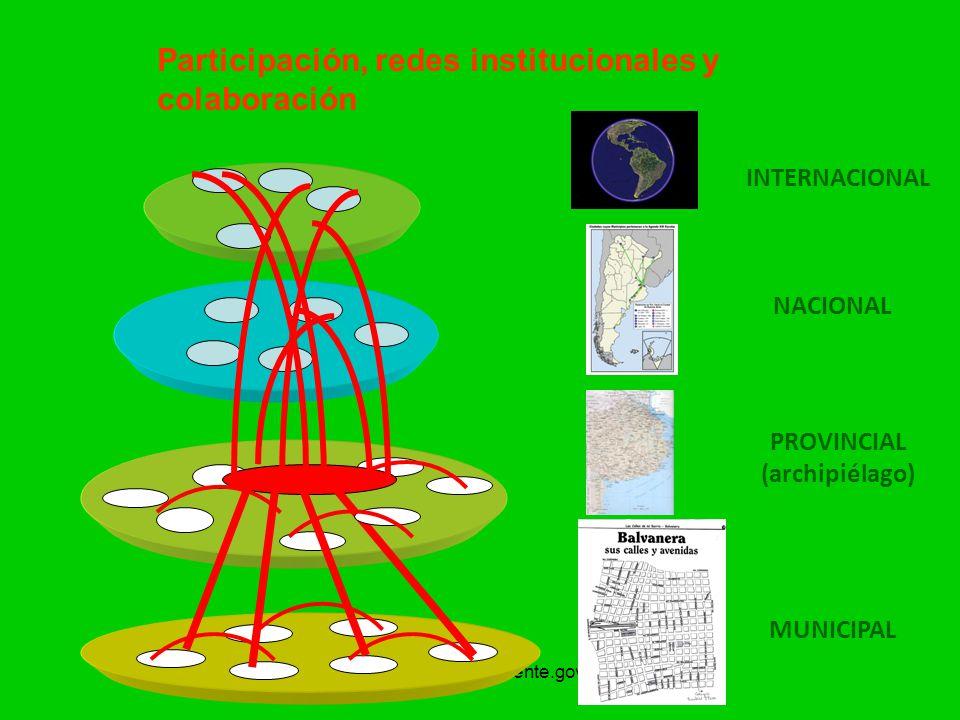 Participación, redes institucionales y colaboración