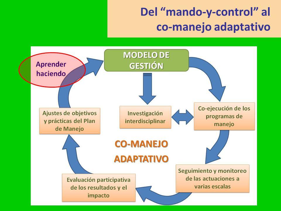 Del mando-y-control al co-manejo adaptativo