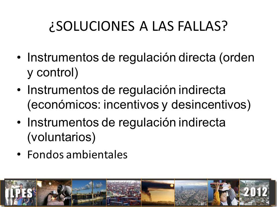 ¿SOLUCIONES A LAS FALLAS
