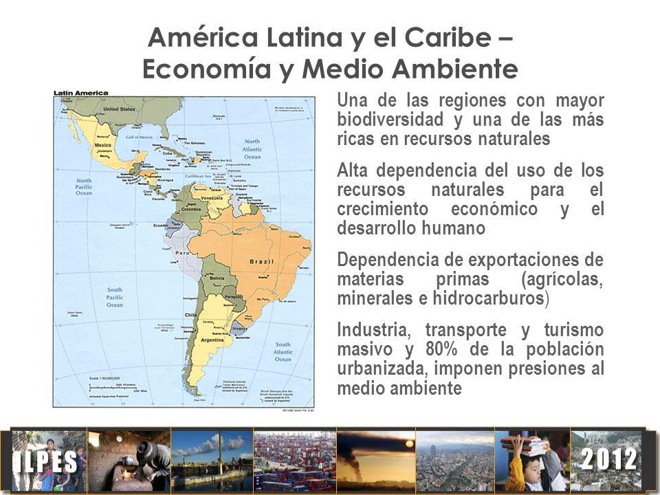 América Latina y el Caribe – Economía y Medio Ambiente