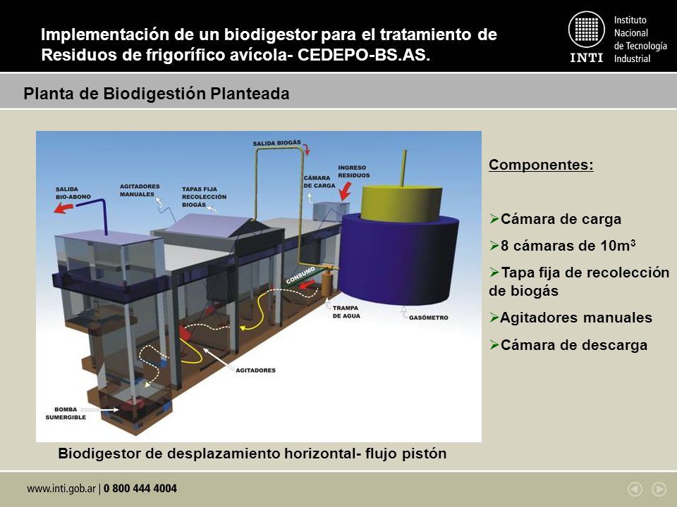 Planta de Biodigestión Planteada