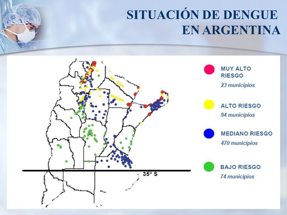 SITUACIÓN DE DENGUE EN ARGENTINA
