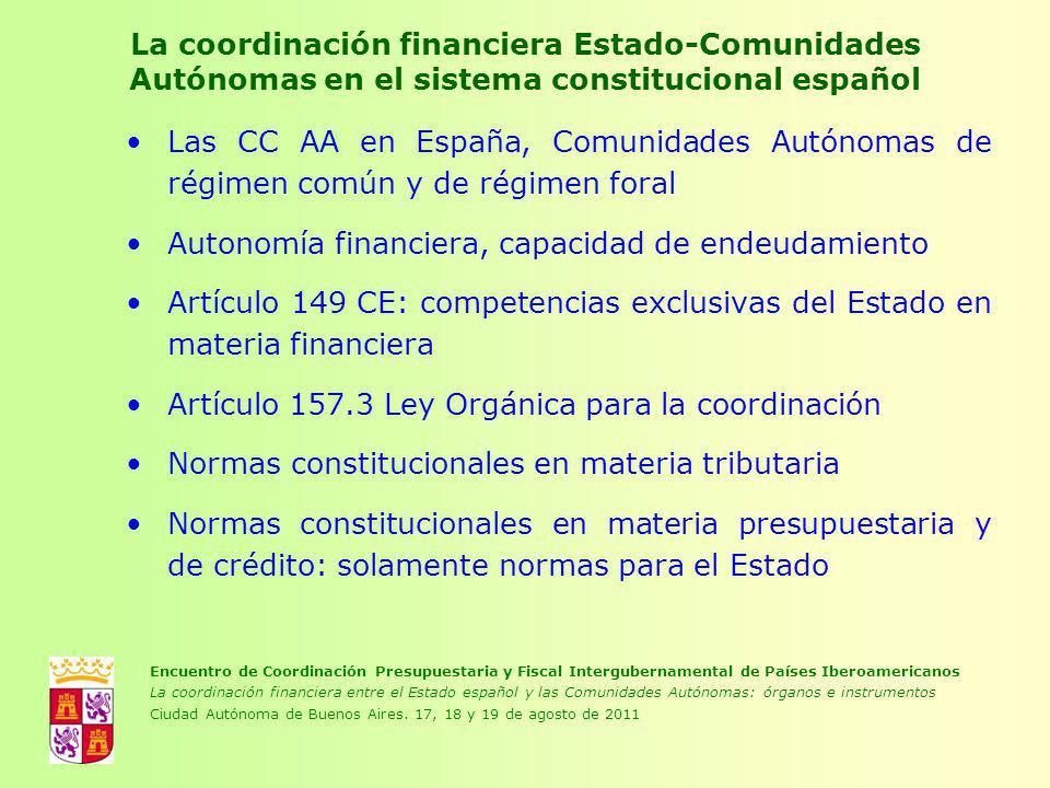 Autonomía financiera, capacidad de endeudamiento