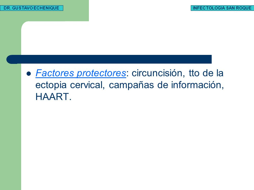 INFECTOLOGIA SAN ROQUE