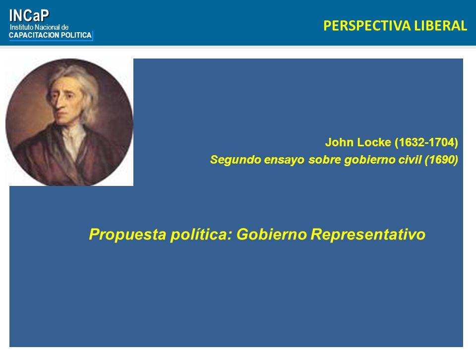 Propuesta política: Gobierno Representativo