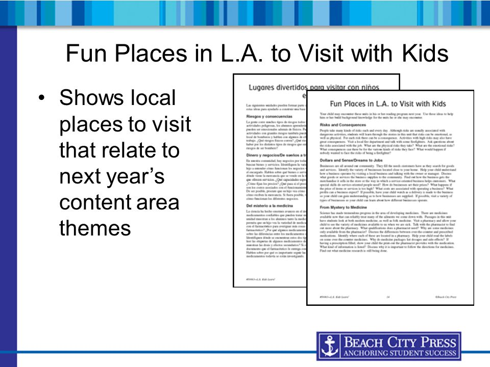 Fun Places in L.A. to Visit with Kids