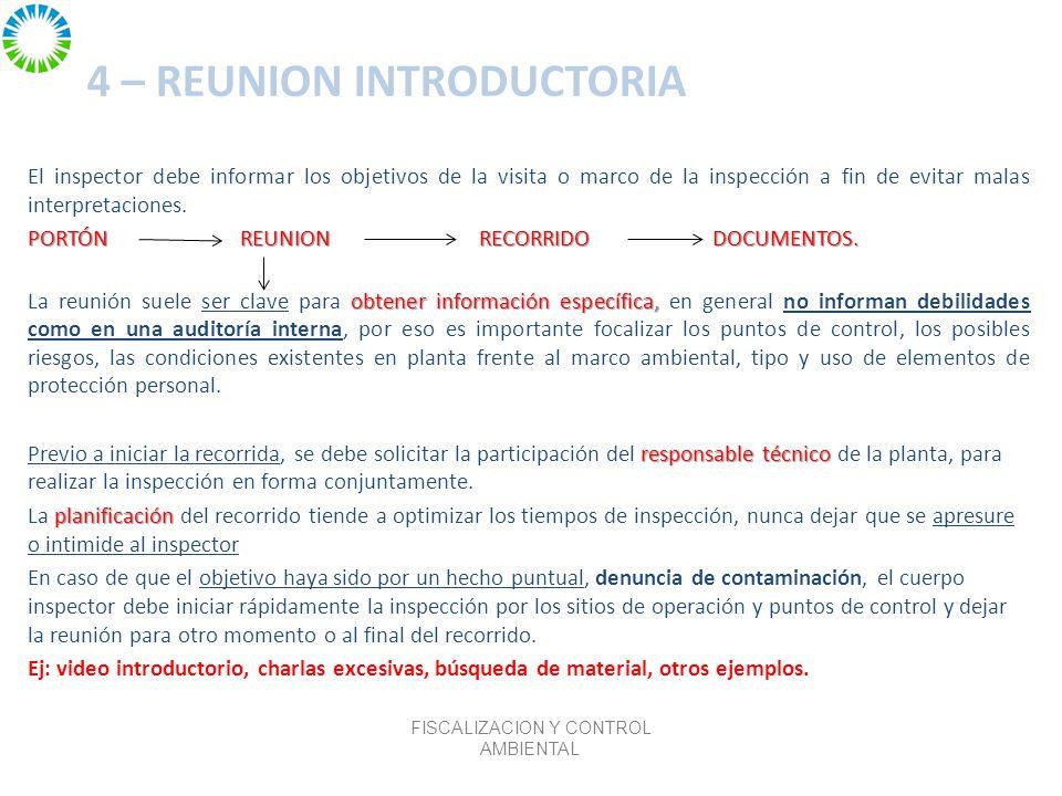 4 – REUNION INTRODUCTORIA