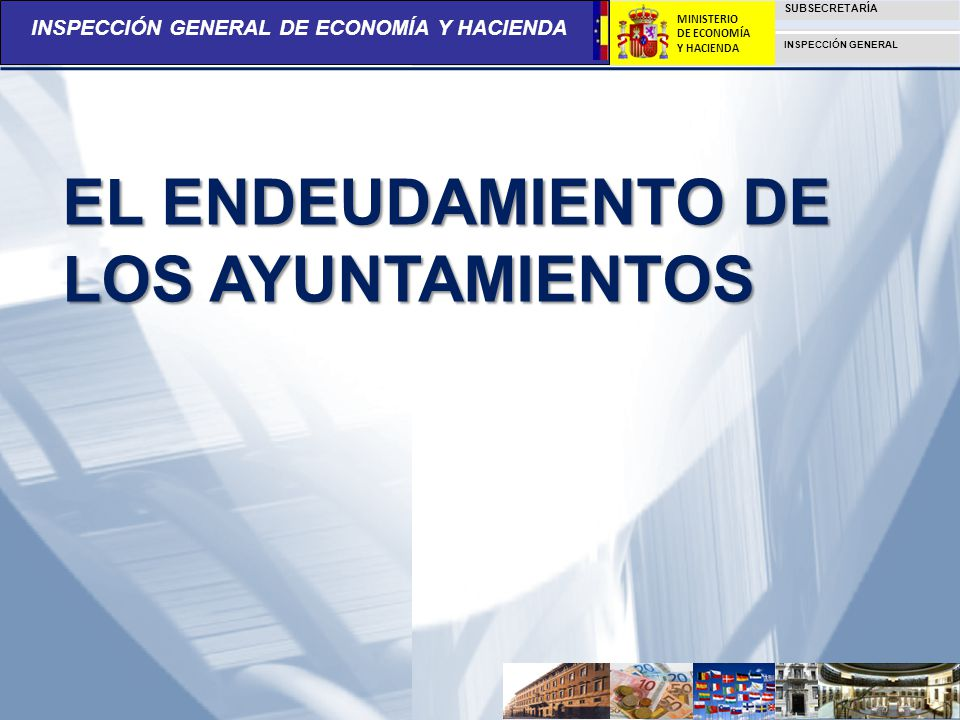 EL ENDEUDAMIENTO DE LOS AYUNTAMIENTOS