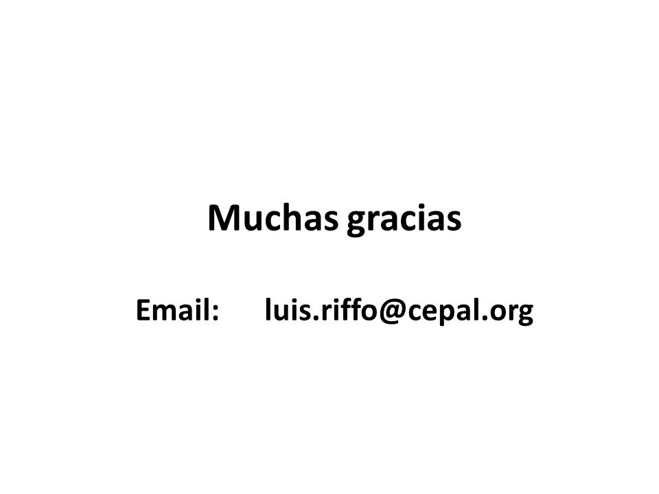 Email: luis.riffo@cepal.org