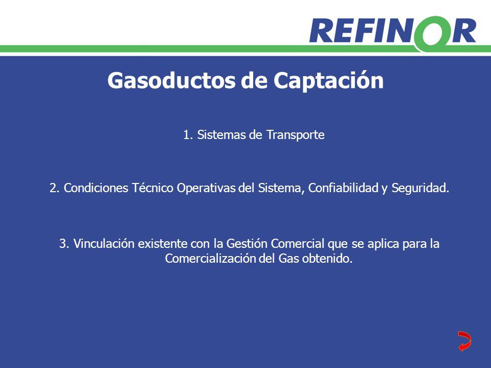 Gasoductos de Captación