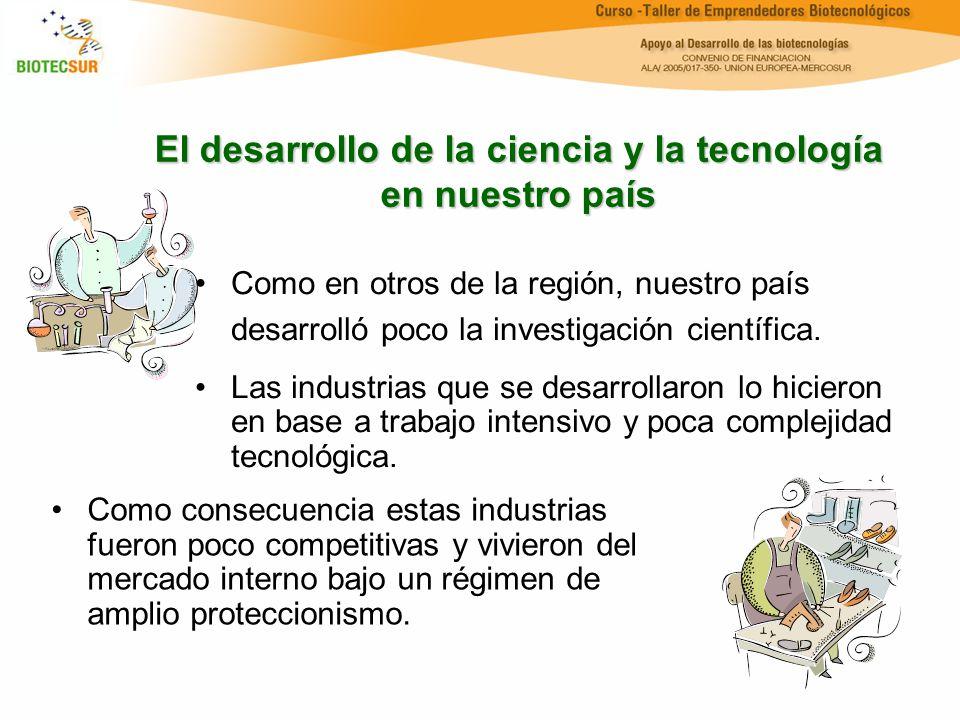 El desarrollo de la ciencia y la tecnología en nuestro país