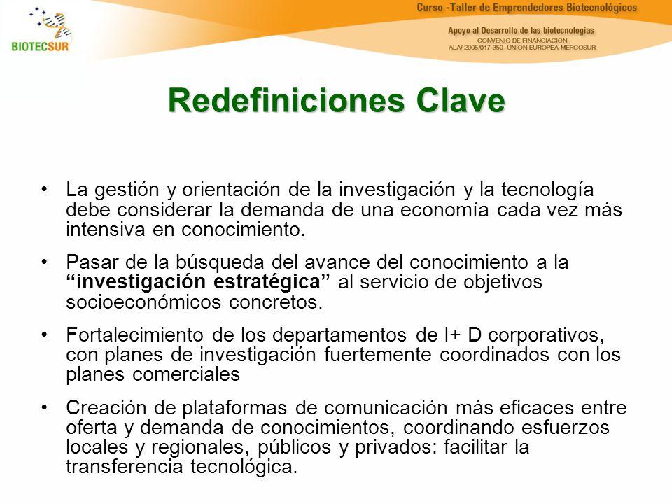 Redefiniciones Clave